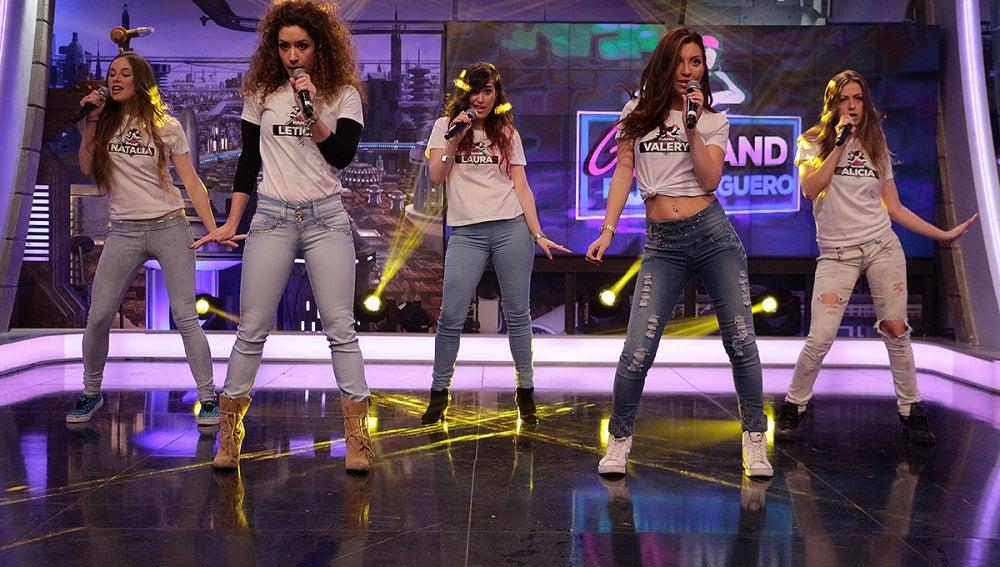 Las chicas de la Girl Band en El Hormiguero 3.0