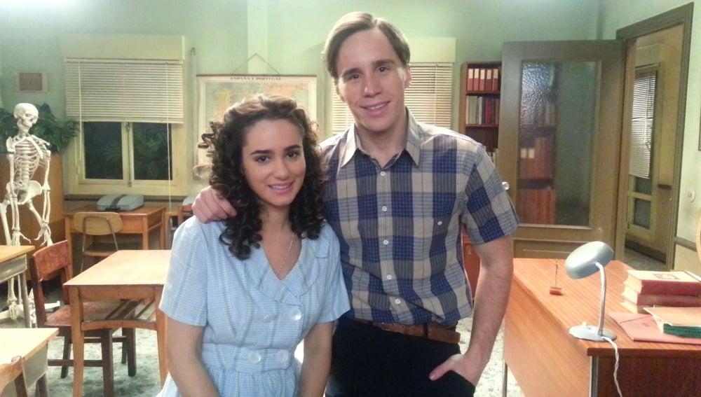Alicia Sanz y Bernabé Fernández