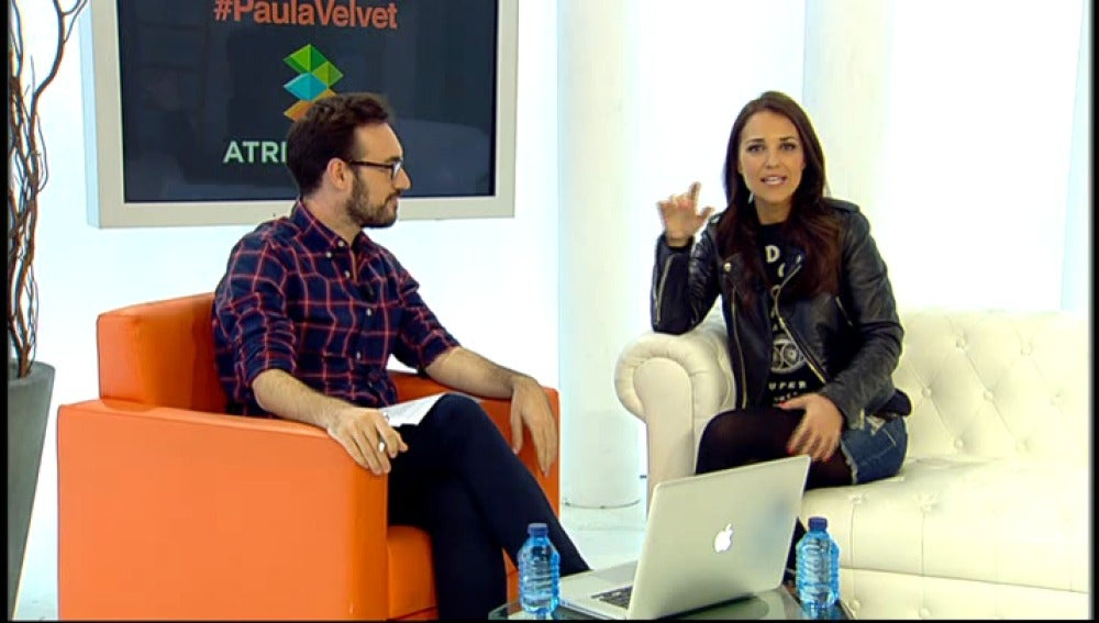 "Paula Echevarría: ""'Velvet 360' es buenísimo"""