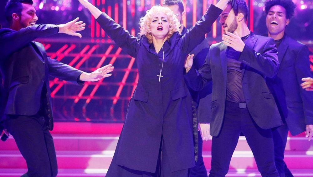 Llum Barrera es Madonna