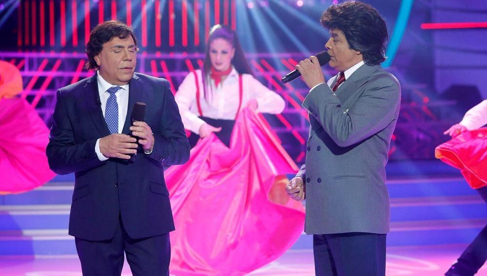 Los Chunguitos imitan a Julio Iglesias y El Puma