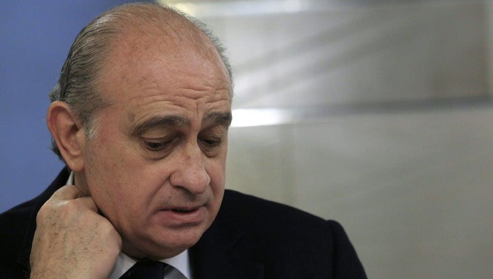Fernández Díaz en rueda de prensa