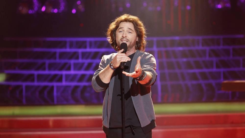 José Manuel Soto imita a Manuel Carrasco