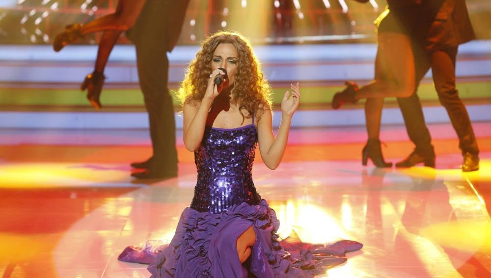 Edurne imita a Leona Lewis