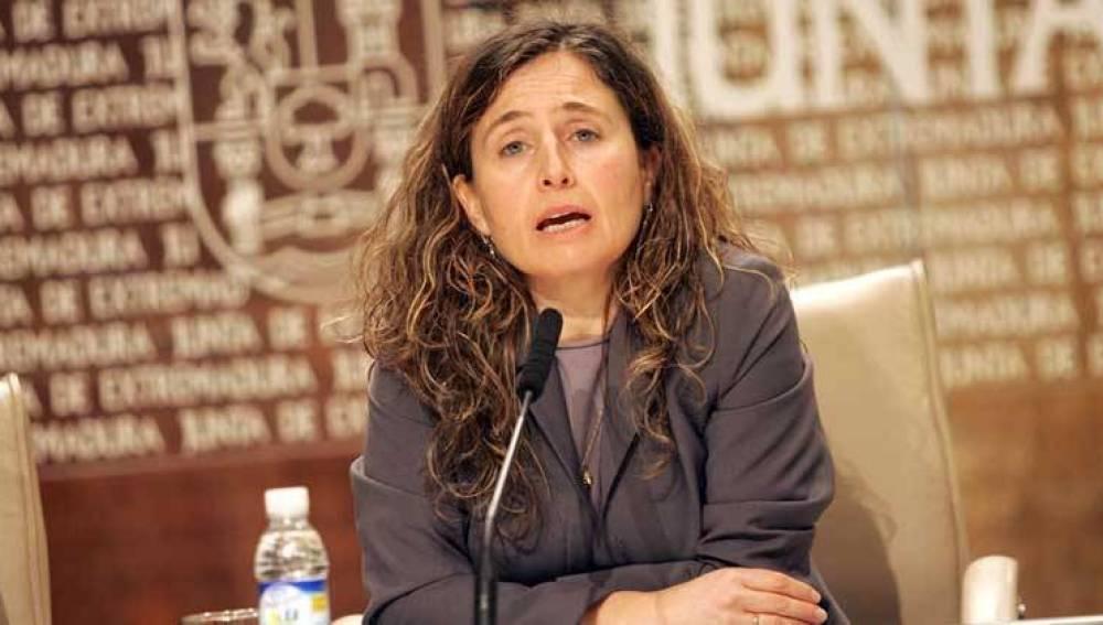 La exconsejera socialista de Extremadura, María José Mejuto