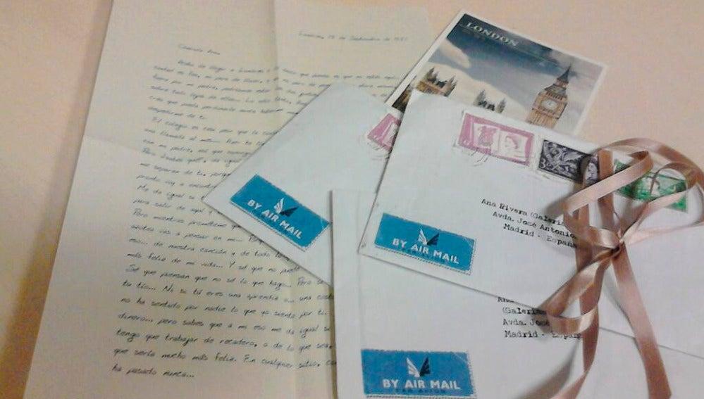 Las cartas de Alberto a Ana