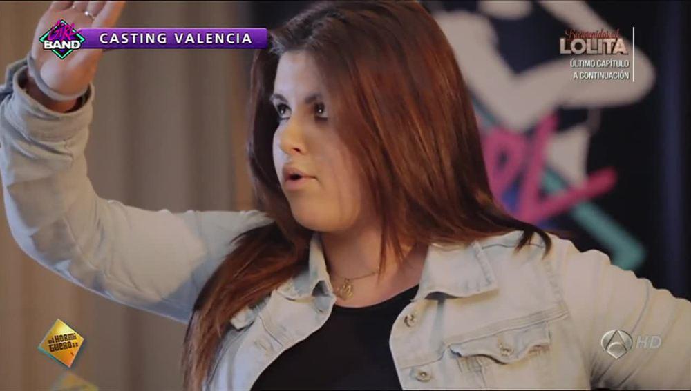 Casting Valencia de la Girl Band de El Hormiguero 3.0