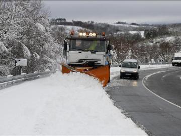 El norte peninsular se tiñirá de blanco con un descenso de las temperaturas en el resto de provincias