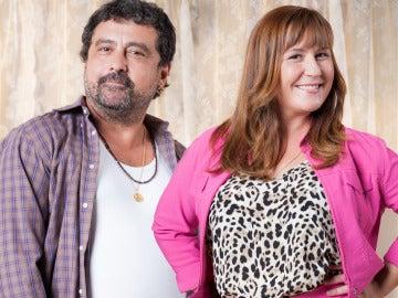Tino y Alicia en la tercera temporada de Con el culo al aire