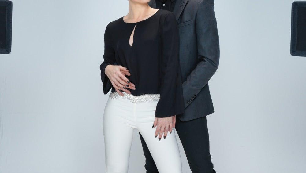 MIguel Herrera y Soraya Arnelas