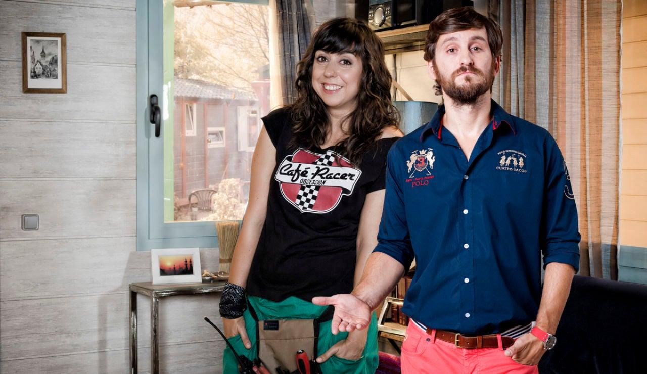 Eli y Jorge en la tercera temporada de Con el culo al aire