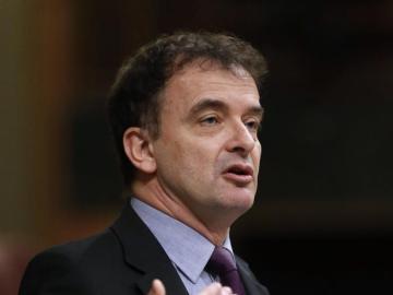 Alfred Bosch se dirige a los diputados en el Congreso