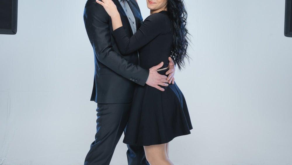 Juan José Ballesta y Verónica Rebollo