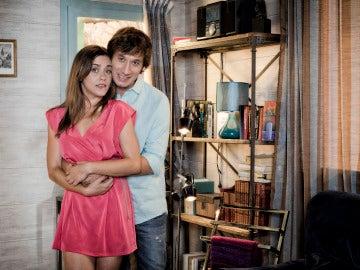 Sandra y Ángel en la tercera temporada de Con el culo al aire