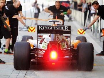 El Force India de 'Checo' Pérez