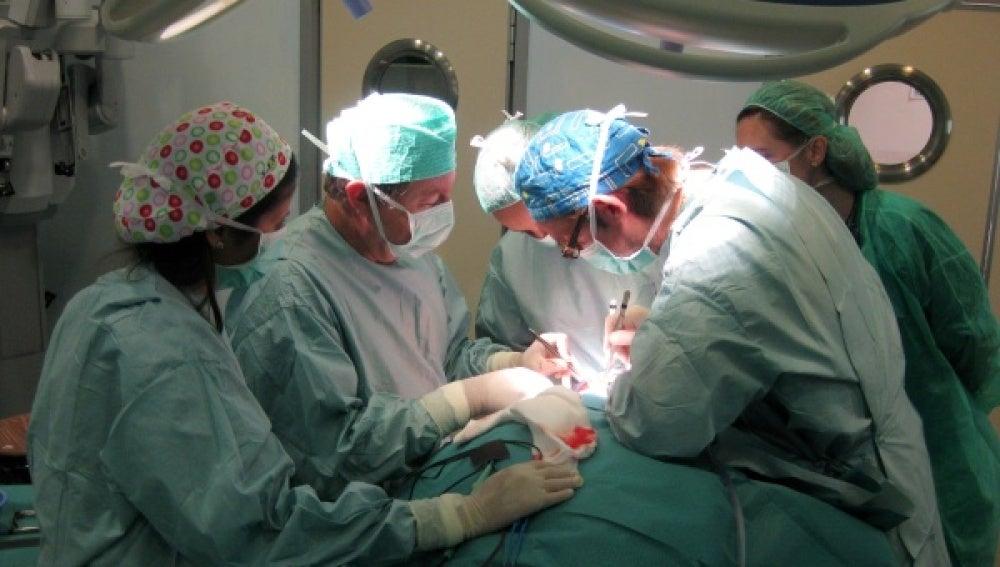 Intervención transplante de pulmón.