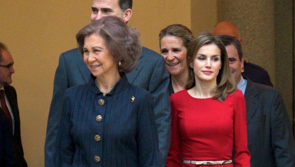 La Reina doña Sofía volverá en marzo a su Grecia natal