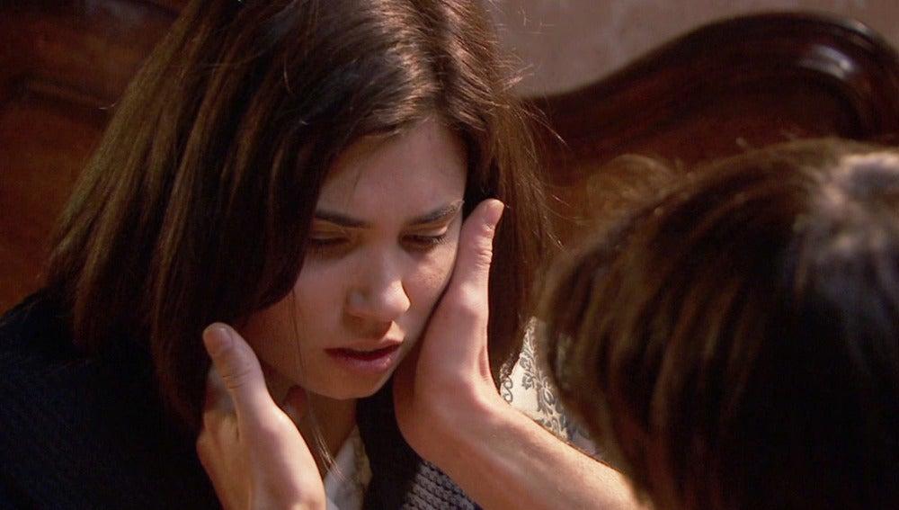 María comienza a tener fiebre