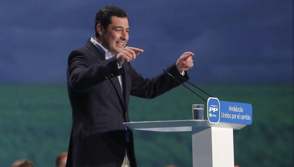 Juan Manuel Moreno, presidente del PP andaluz