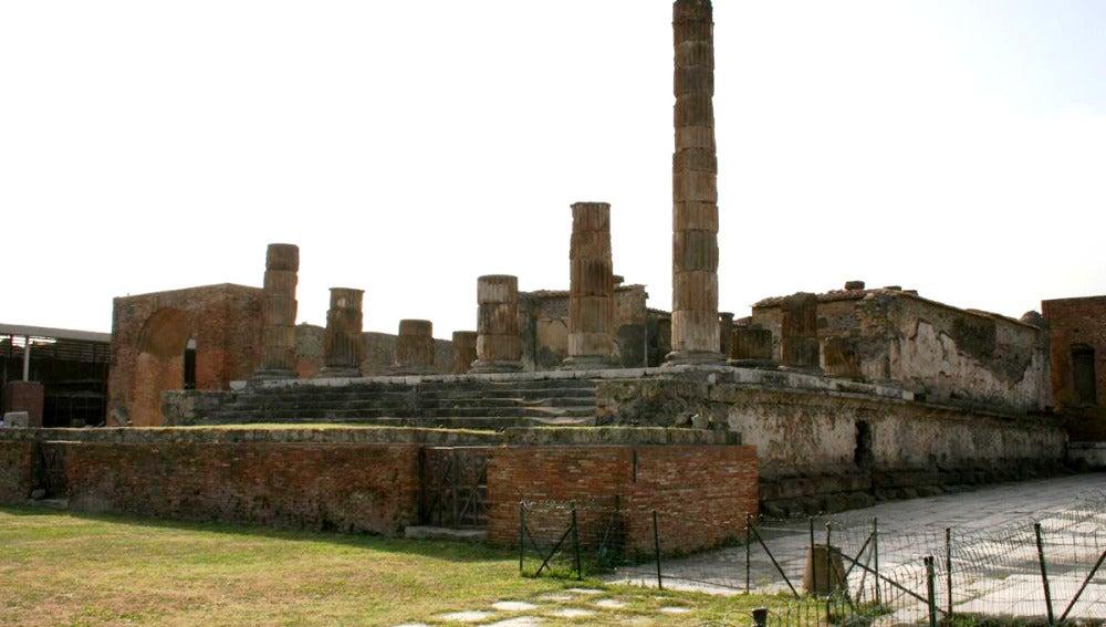 El Templo de Júpiter en Pompeya