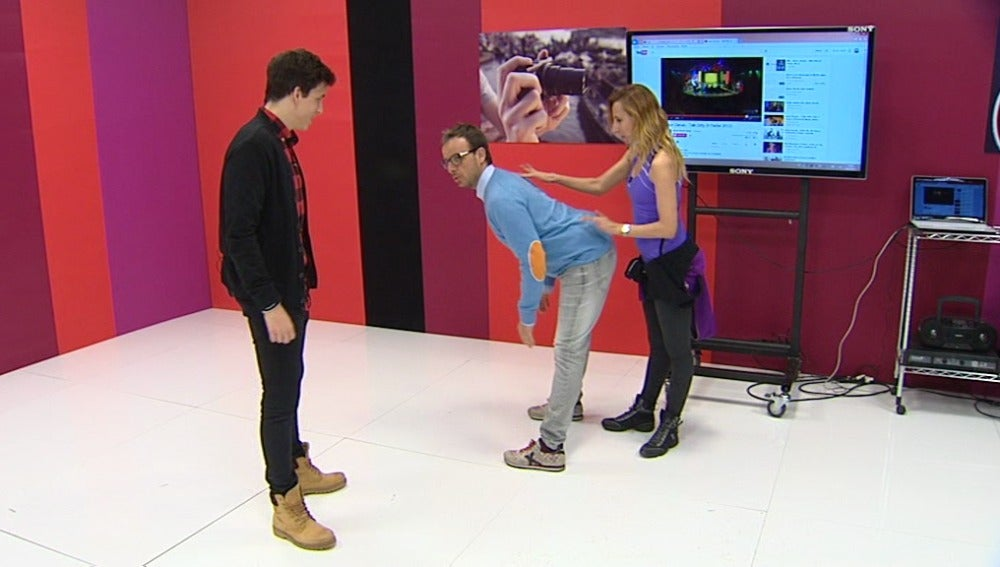 El twerking de Xuso Jones y Ángel Llácer