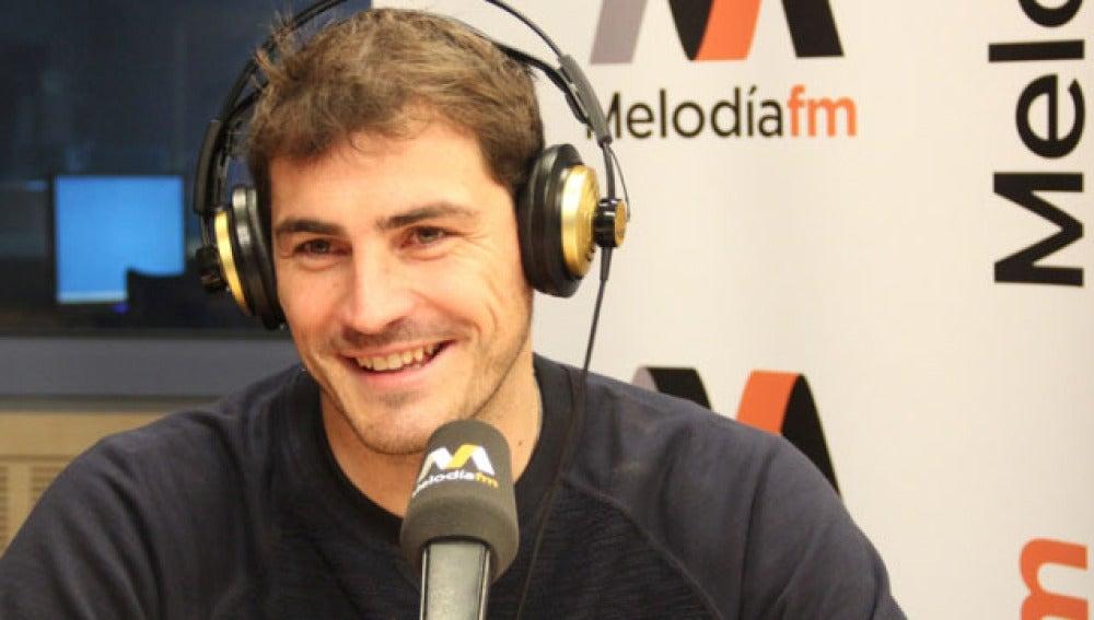 Iker Casillas, en Melodía Fm