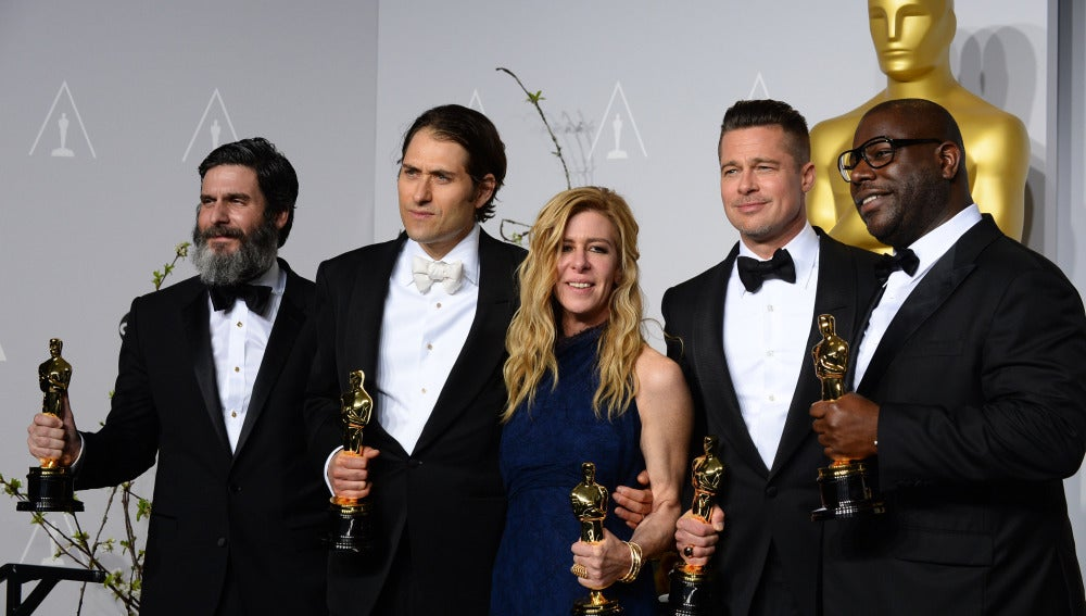 '12 Años de Esclavitud' gana mejor película