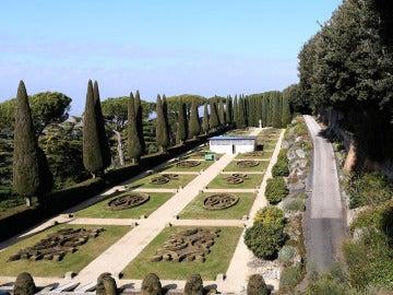 Los jardines de Castel Gandolfo