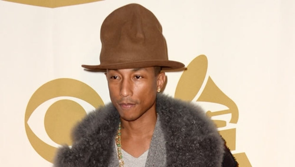Pharrell Williams y su sombrero