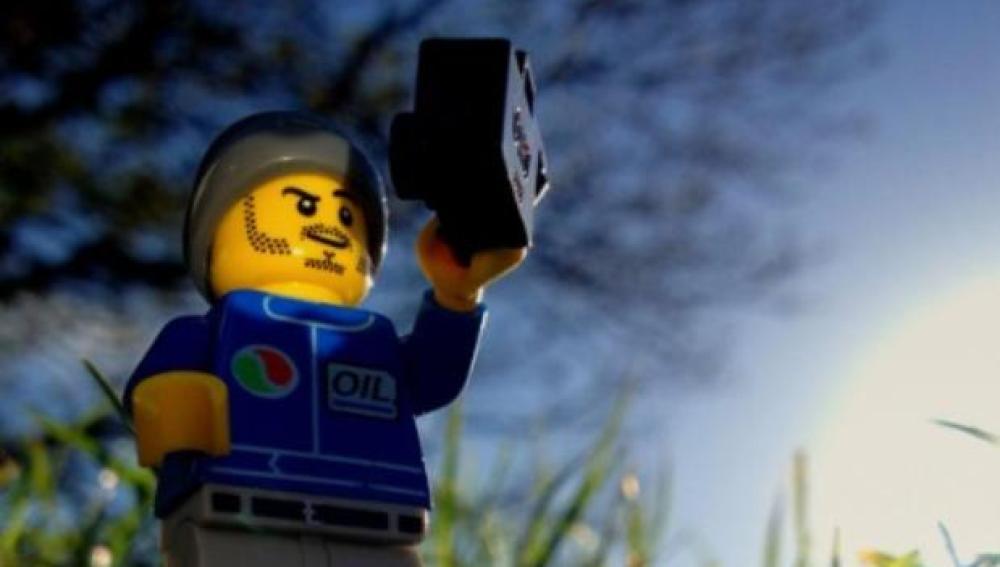El Lego fotógrafo