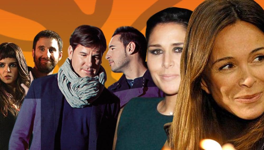 Andy y Lucas, Rosa, Clara Lago, Dani Rovira y Lydia Bosch en El Hormiguero 3.0