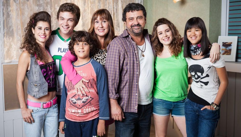La familia Colmenarejo