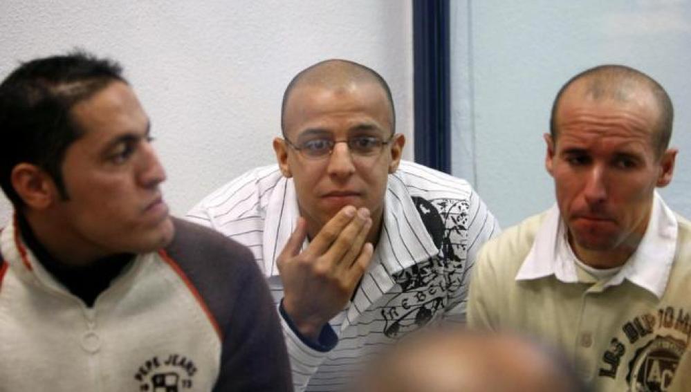 Rafa Zouhier durante el juicio del 11-M