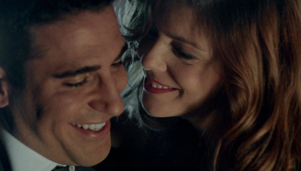 Alberto y Cristina se divierten juntos