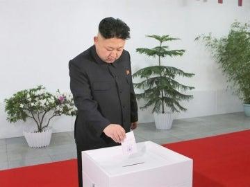 Todos los electores de la circunscripción votaron a favor de Kim Jong-un