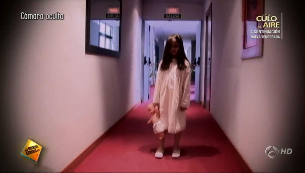 Cámara Oculta: La niña fantasma