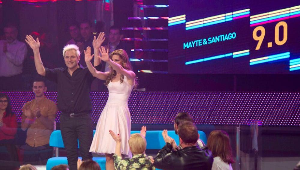 Santiago y Mayte