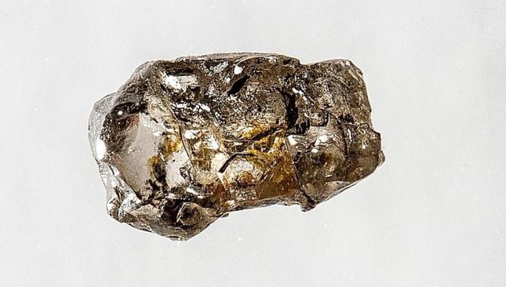 El diamante en el que se encontró la ringwoodita