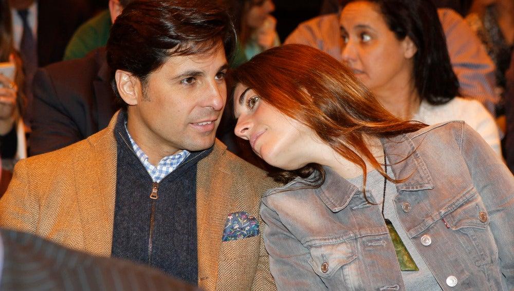 Fran Rivera y Lourdes Montes muy acaramelados