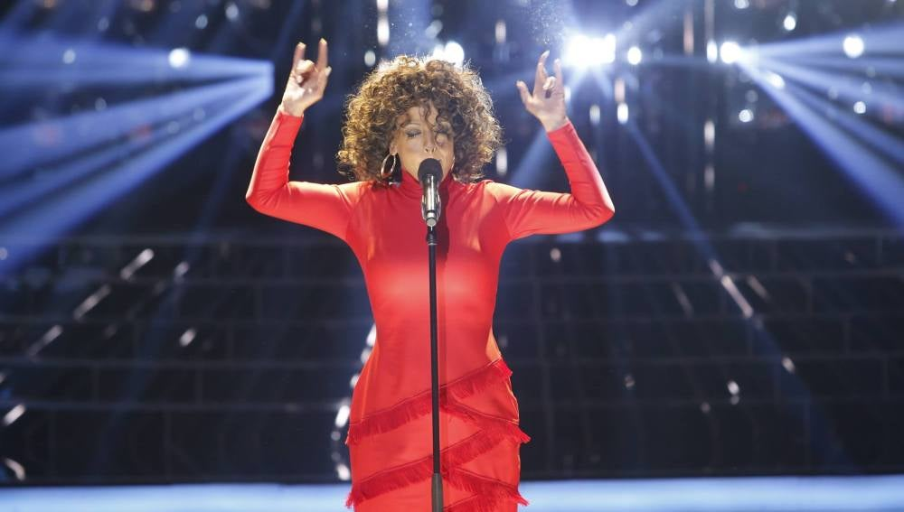 Ruth Lorenzo es Whitney Houston