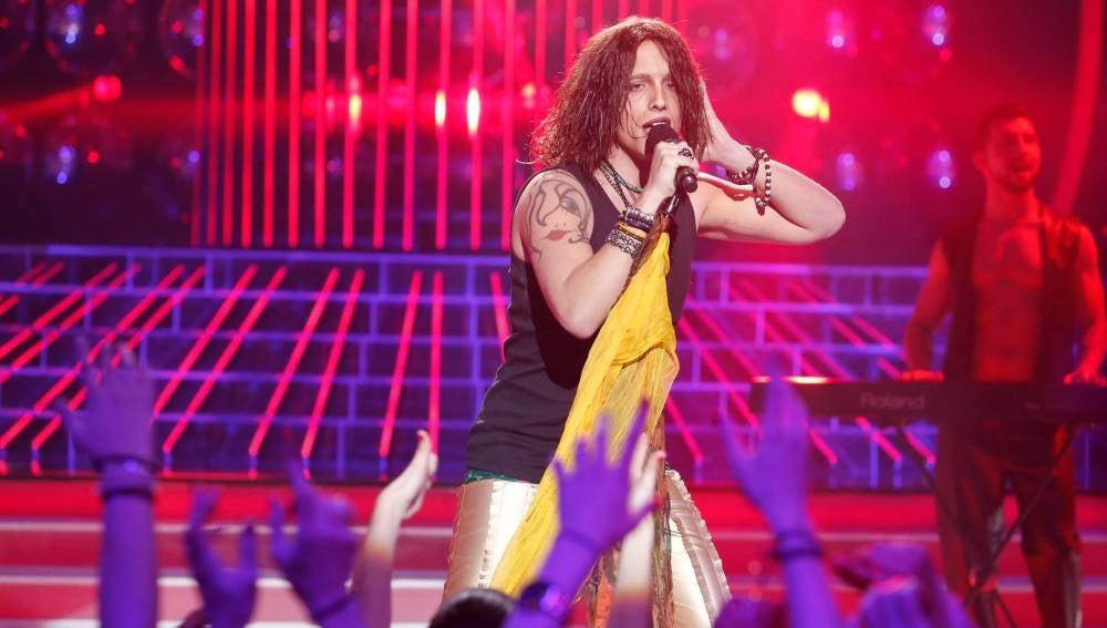 Xuso Jones imita a Aerosmith
