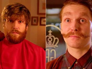 Así te cambian el look en la barbería de El Gran Hotel Budapest