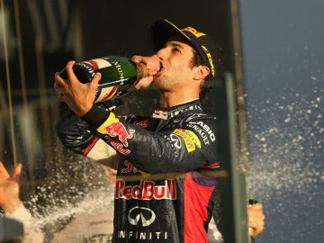 Ricciardo degusta el sabor del podio