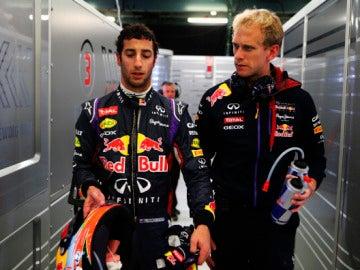 Ricciardo se estrena en Fórmula 1