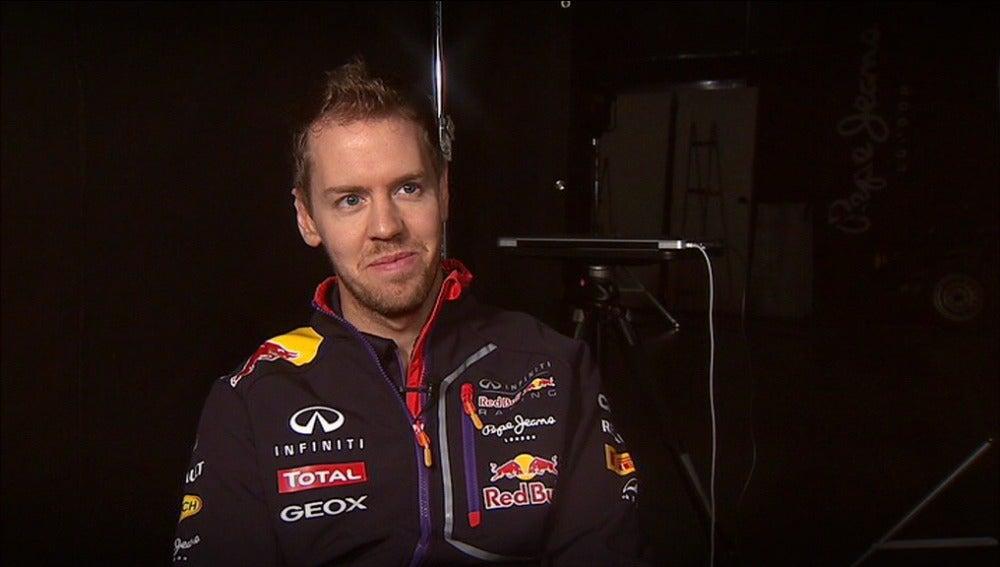 Vettel, contento de ser un mal perdedor