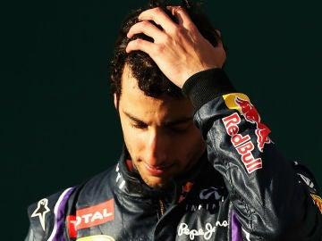 Daniel Ricciardo tras el GP de Australia