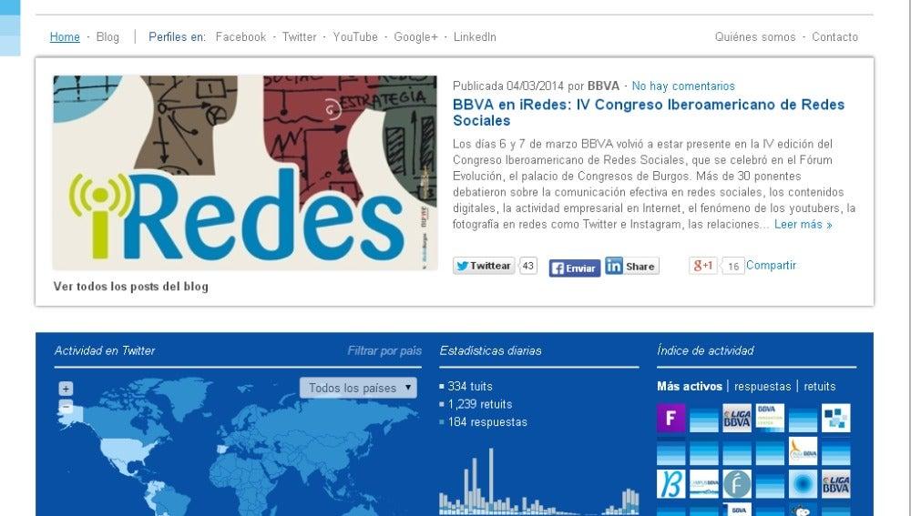 BBVA, elegida mejor entidad del mundo en comunicación de la sostenibilidad en redes sociales