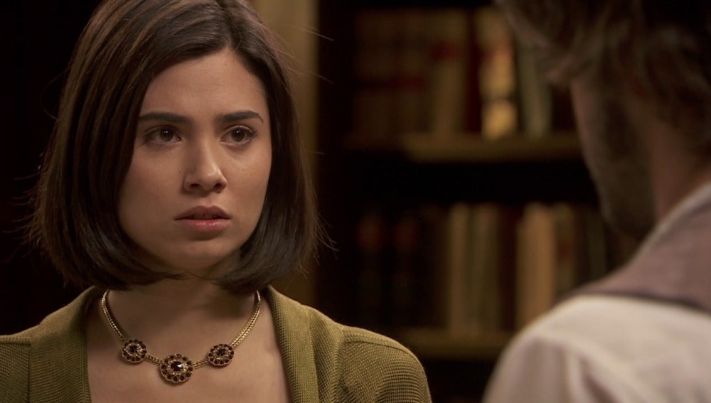 María recibe una carta de la residencia de los Mesía, ¿Fernando?
