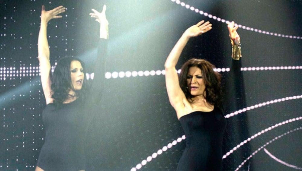 Azucar moreno bailando 'Single Ladies'