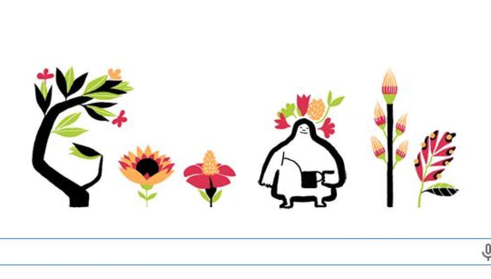La primavera llega a Google
